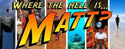 Where the hell is Matt? - Tanec a cesta kolem světa